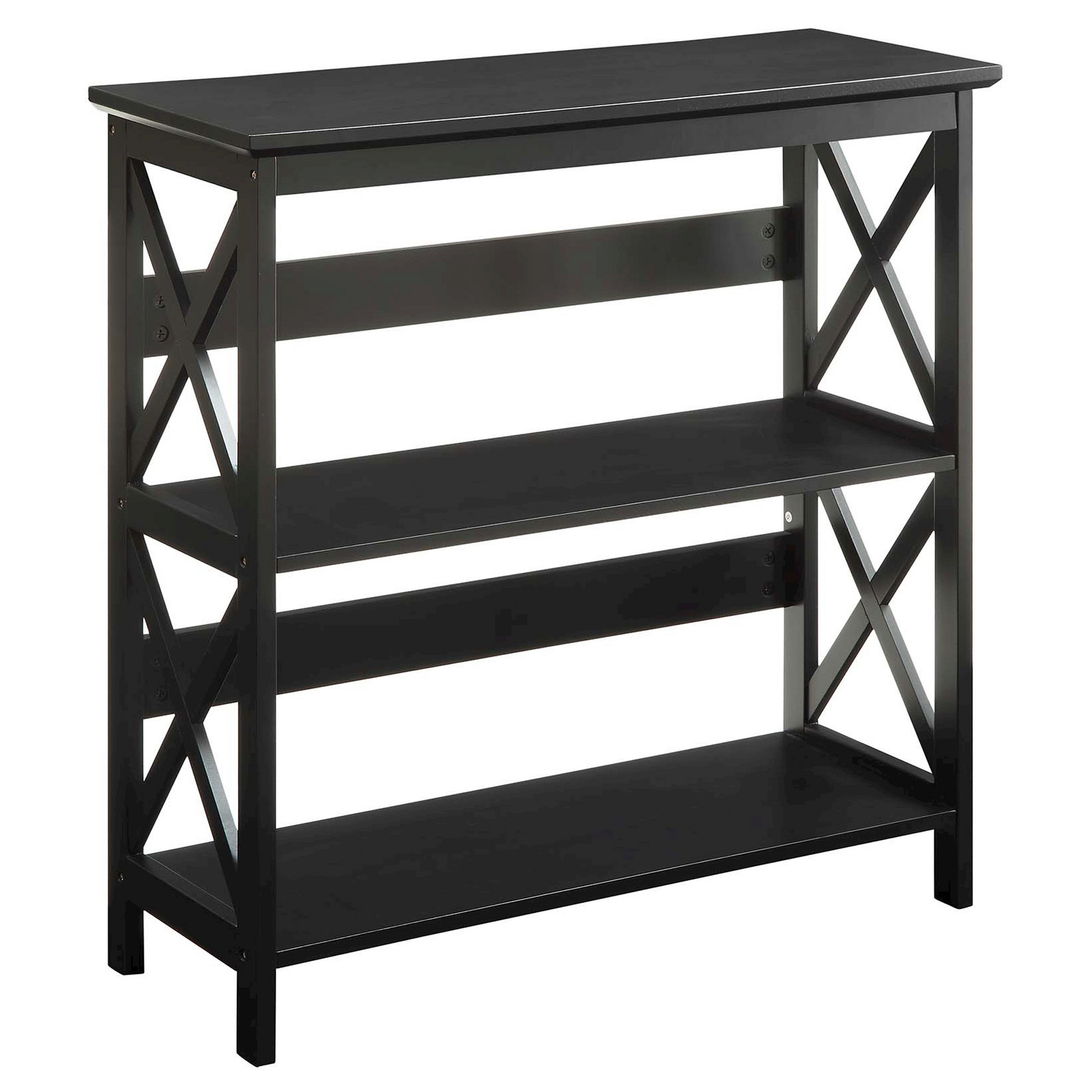 bookcase qlt hei bookcases p concepts tier shelf glass convenience by prod classic wid spin