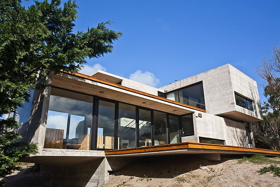 contemporary steel homes