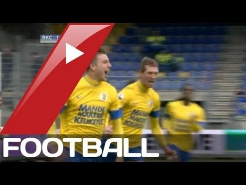 FOOTBALL -  RKC Waalwijk v AZ Alkmaar 2-1 | Dutch Eredivisie League Goals  Highlights | 03-03-2013 - http://lefootball.fr/rkc-waalwijk-v-az-alkmaar-2-1-dutch-eredivisie-league-goals-highlights-03-03-2013/