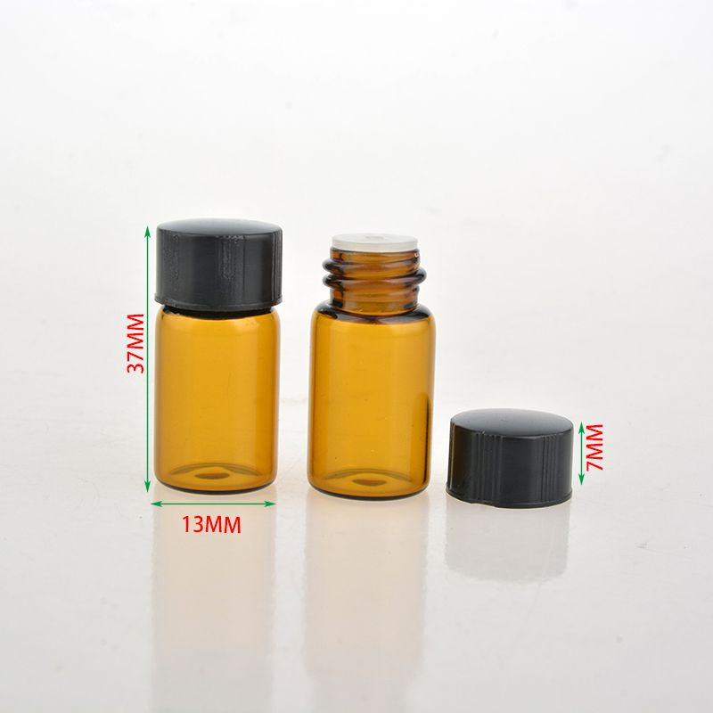 10 Teile/los 3 ML Mini Glas Tragbare Probe Ätherisches Öl Leere ...