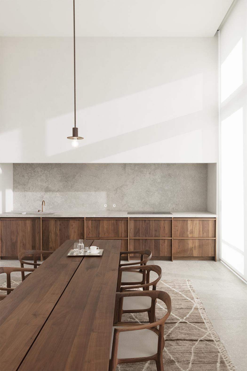 A Minimal Penthouse By Hans Verstuyft Architects Modedamour  # Muebles New Style Villa Tesei