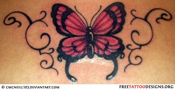 f5ccc1a0389eb Butterfly Tattoos have been considered as an inspiration for tattoos since  a very long time ago.