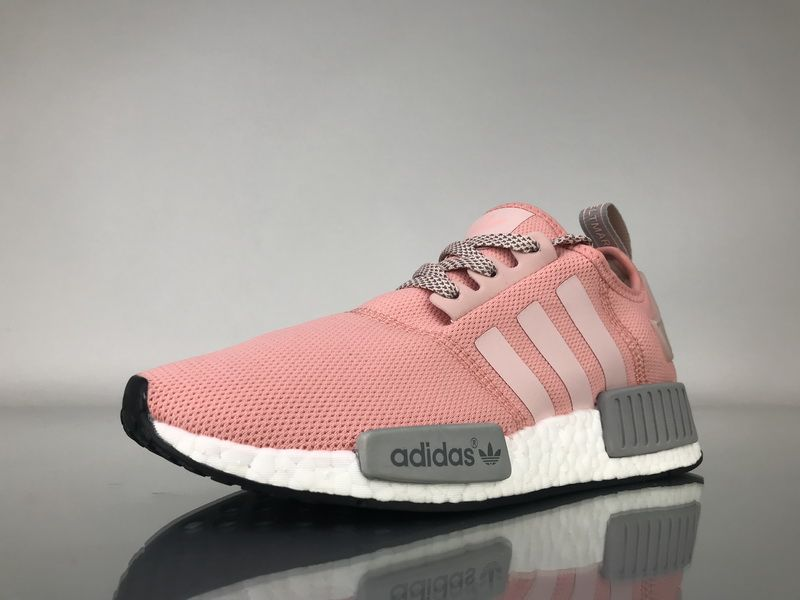 "4b5378e9e064 Adidas NMD R1 Mesh ""Grey Pimk"" BY3059 Women Ladies Girls Real Boost for  Sale2"