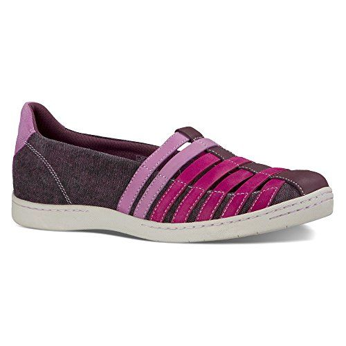 Ahnu Womens North Point Dark Plum Sneaker 55 B M ** Learn more by visiting  the. Slip On ...