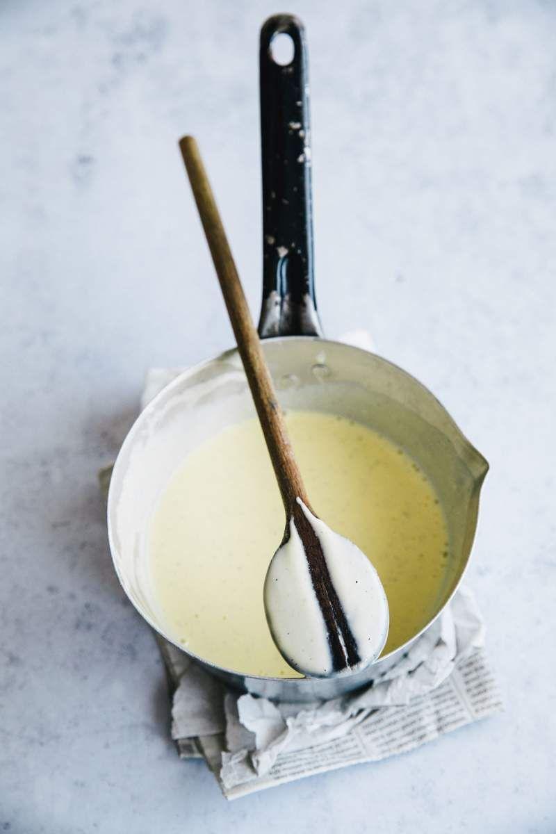Easy Vanilla Sauce Recipe Vanilla Sauce Recipes Sweet Sauce