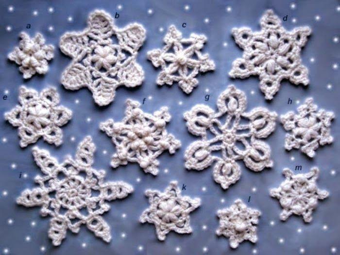 Todo crochet | Ideas para el hogar | Pinterest | Patrón de copo de ...