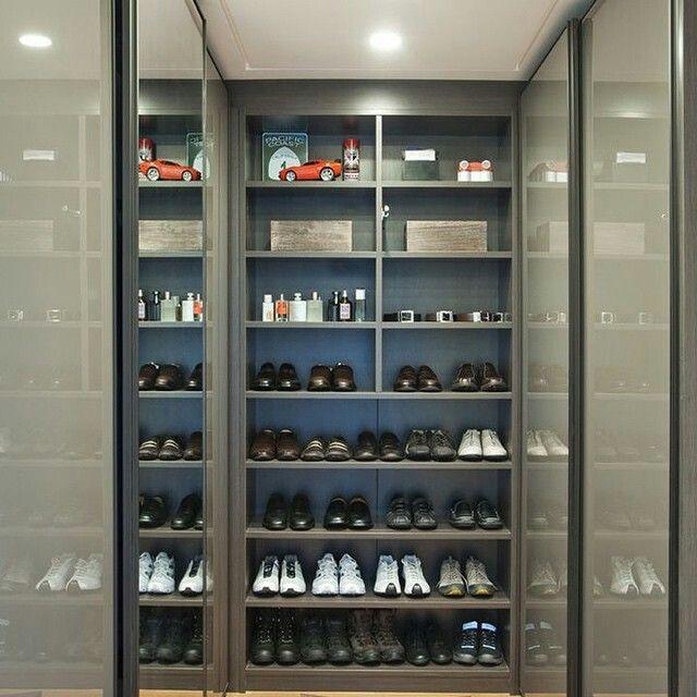 Closet masculino inspiração
