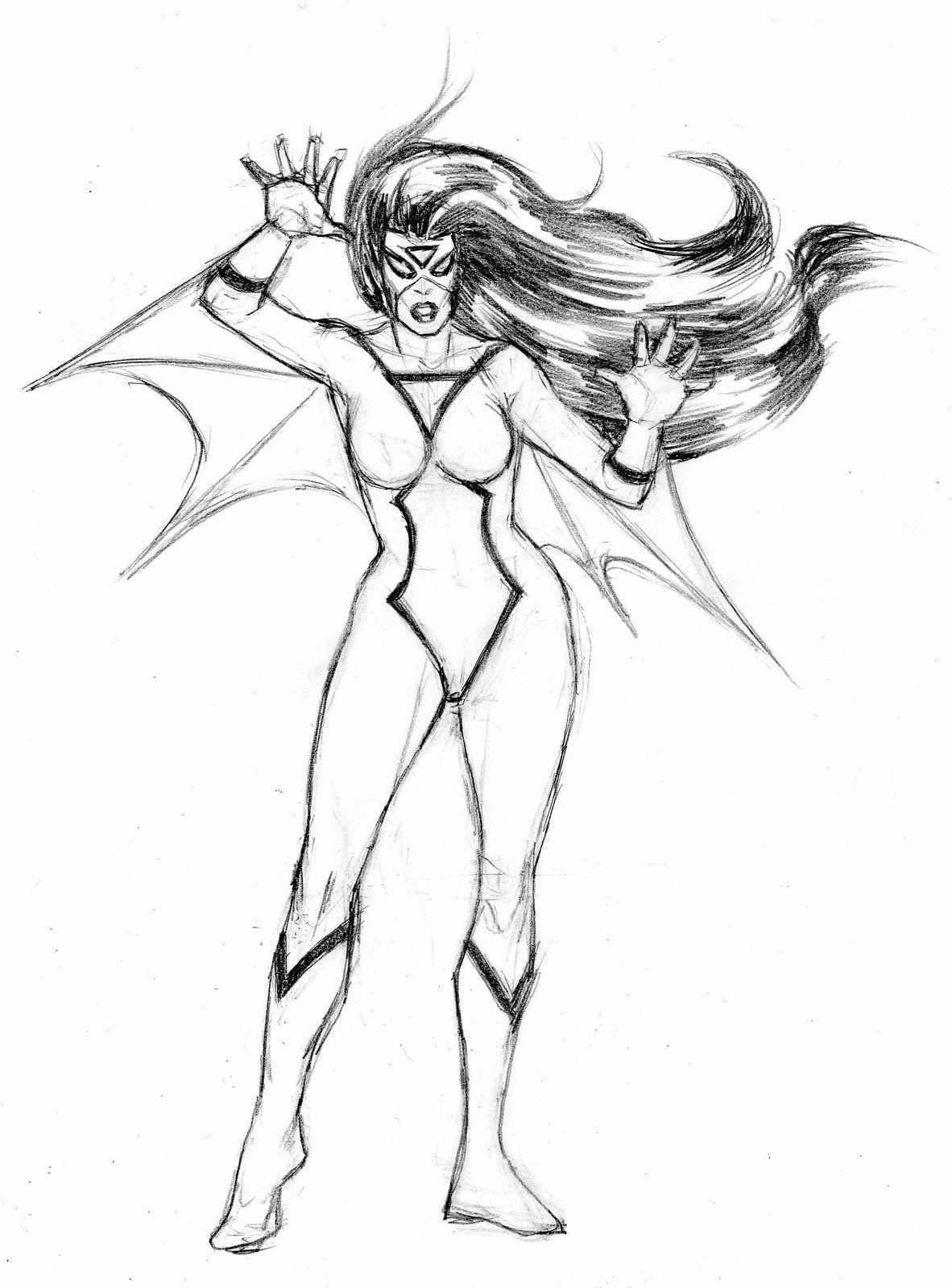 female superhero coloring pages spider woman | superhero coloring ...