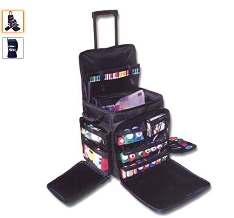 My Favorite Bag For Hauling All Of My Home Health Items Lots Of Pockets And Sturdy Handle Crop In Style Scrapbook Tote Rolling Tote Rolling Bags For Teachers