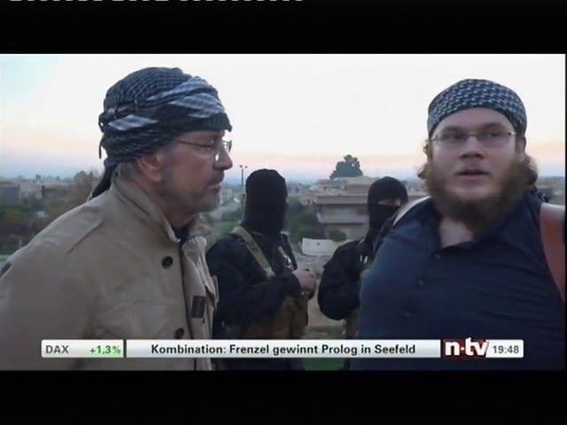 Jürgen Todenhöfer interviewt deutschen IS-Kämpfer