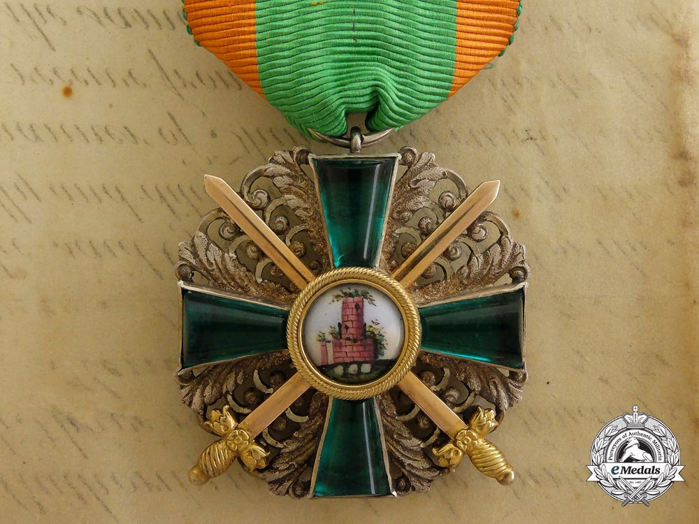 A 18661918 Order of the Zahringer Lion; 2nd Class with