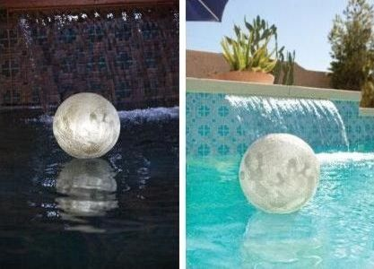 Game Solar Lighted Globe Chlorinator - eclectic - swimming pools and spas - PoolSupply.com $17.99