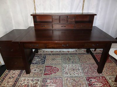 This Piece Is Absolutely Fabulous For Its Classical Beauty And Perfect The Organized Person 84999 Pottery Barn Lucas Desk Hutch File Cabinet