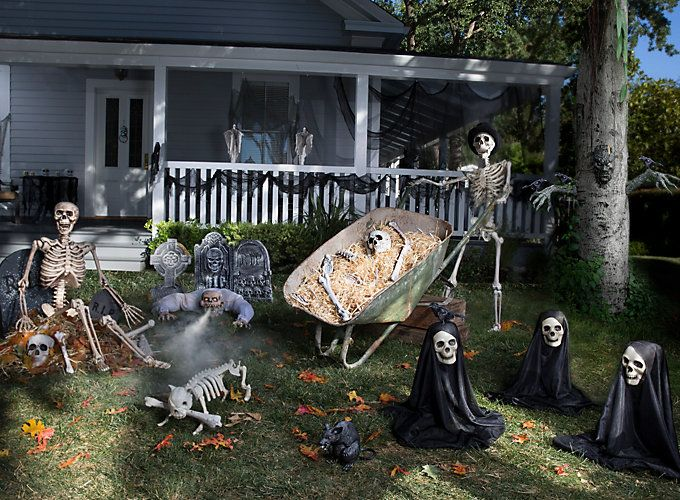 haunted front yard ideas