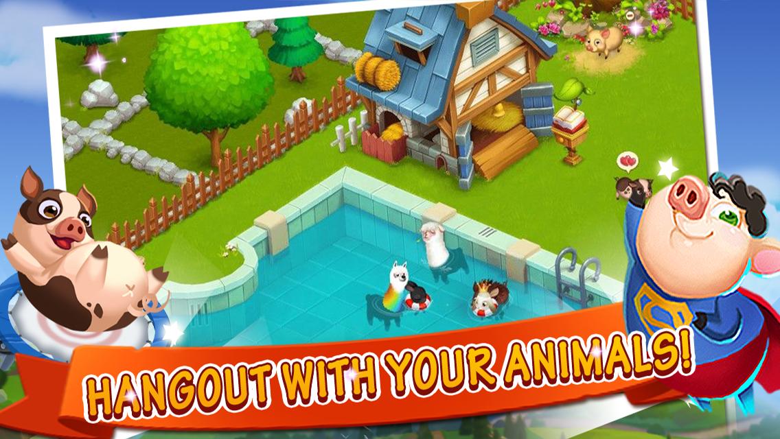 Happy Farm Online Game