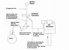 gm hei distributor and coil wiring diagram yahoo image search rh pinterest com Ford Electronic Ignition Wiring Diagram GM Ignition Module Wiring Diagram