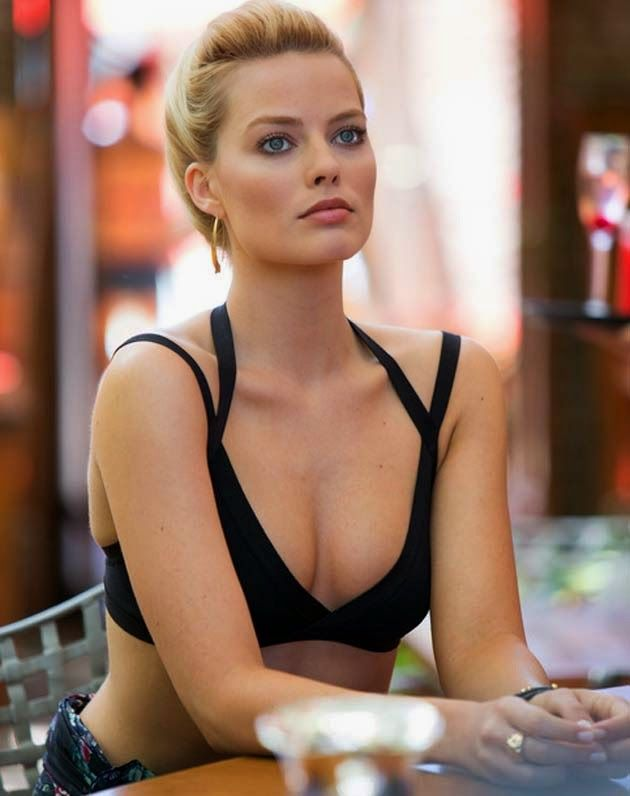 The gorgeous Australian actress Margot Robbie