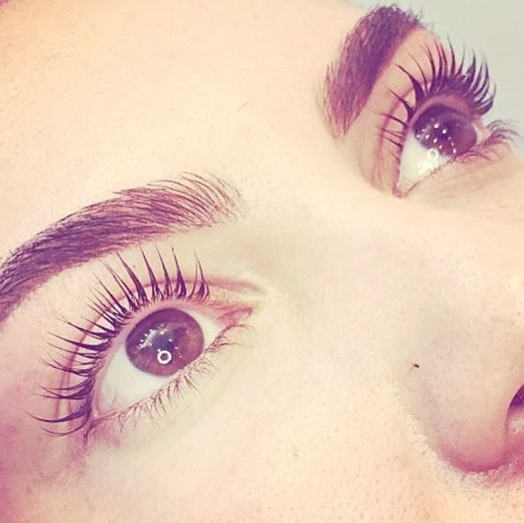 1095baa6d48 Lash & Brow goals achieved Tech check: @helena9985 #lashgoals #brows  #LVLLashes