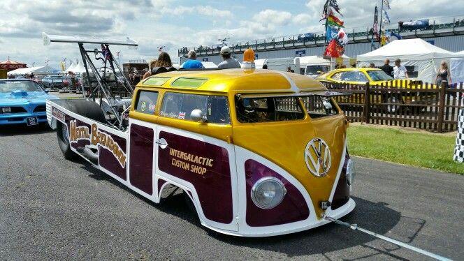Drag Bus - Santa Pod 2015