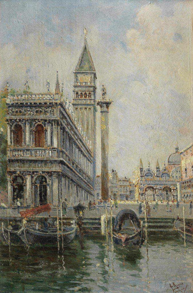 Испанский художник Antonio Maria de Reyna Manescau (1859-1937): ru_musagetes
