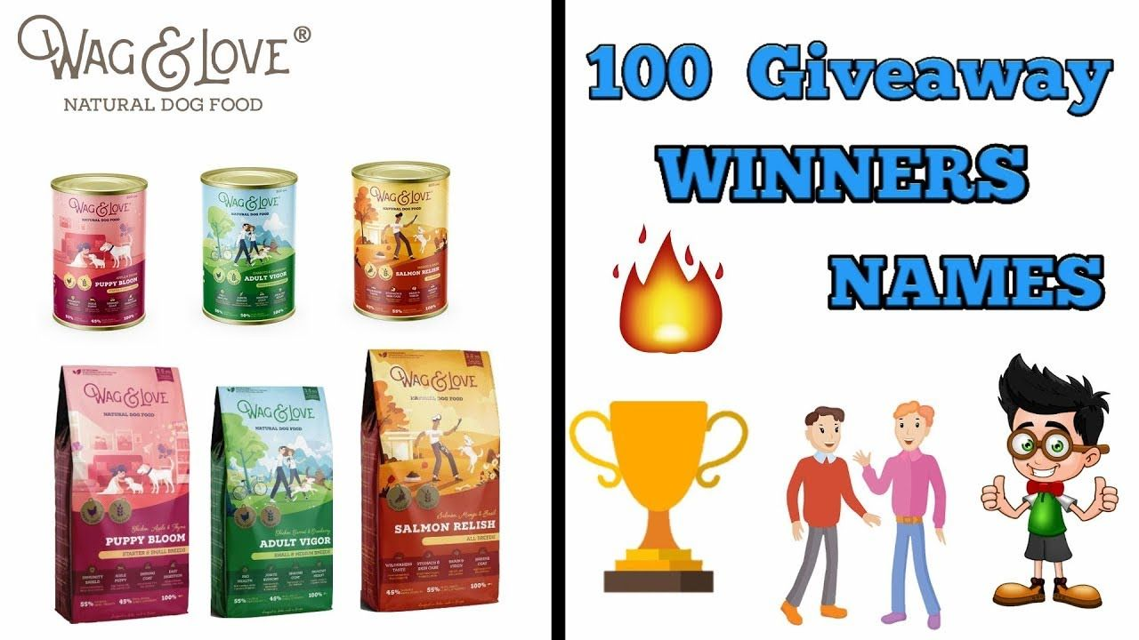 Giveaway Winner Announcement Best Dog Food In Hindi Dog Food