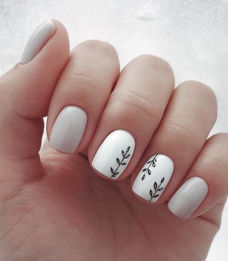 61 Simple Short Acrylic Summer Nails Designs For 2019 Koees Blog Short Acrylic Nails Designs Short Acrylic Nails Square Nail Designs