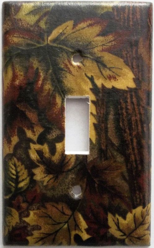 Mossy Oak Camo Camouflage Light Switch Cover Plate Boys ...