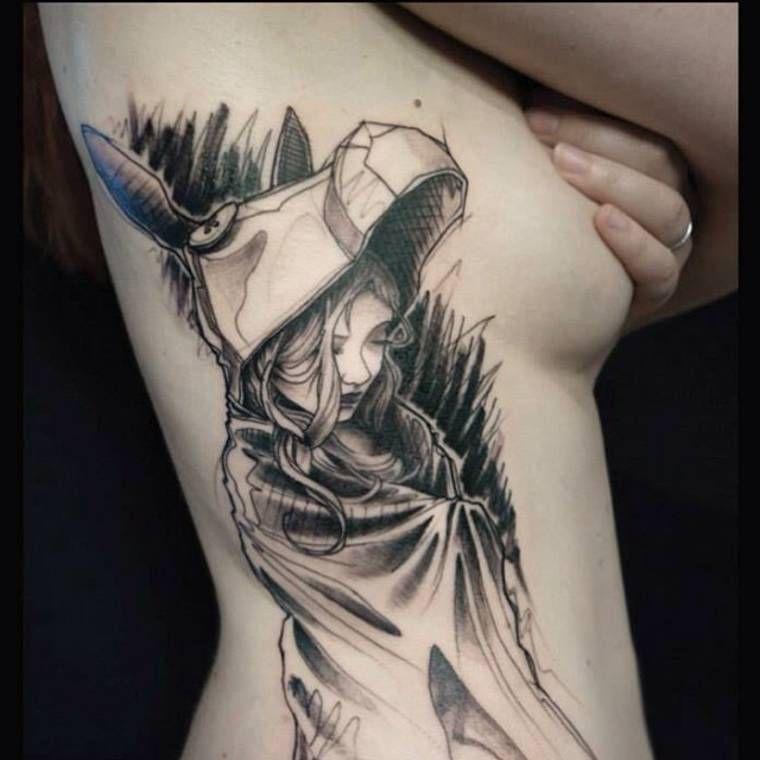 sketch tattoos the creations of l oiseau image tattoo ideas tatuajes tatuaje coraz n. Black Bedroom Furniture Sets. Home Design Ideas