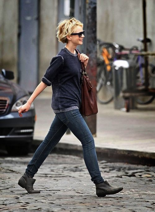 relaxed style Carey Mulligan SO CUTE.