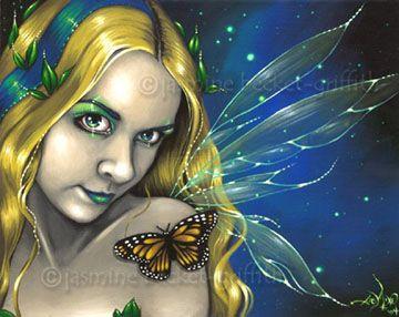 Fairy Art:  By Starlight