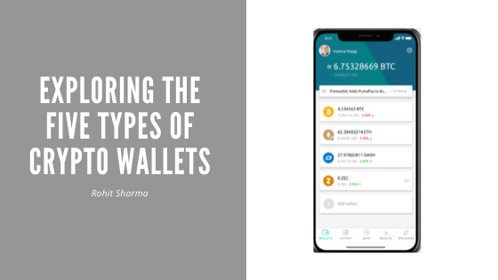 Exploring The Five Types Of Crypto Wallets Blog Header Type The Five