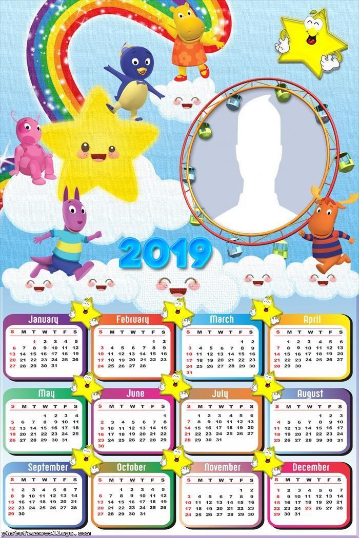 The Backyardigans Calendar 2019 Frame Photo Montage Free