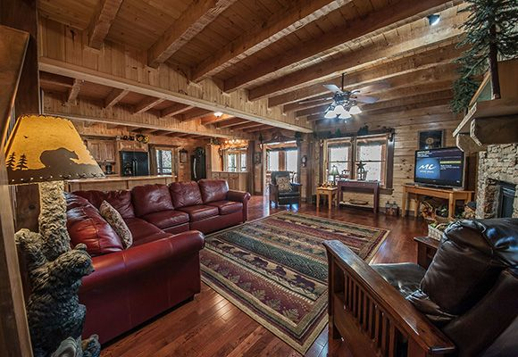 Oak Haven Cabin Resort And Spa Of Tennessee Cabin 119 Tennessee Cabins Cabin Home Decor