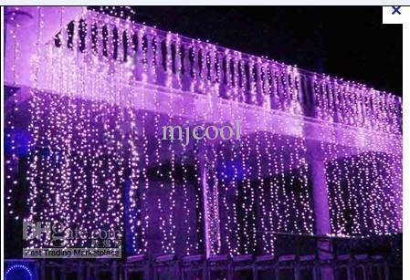 Wholesale Led - Buy 8x3M 800LED Curtain Wedding Party LED Curtain