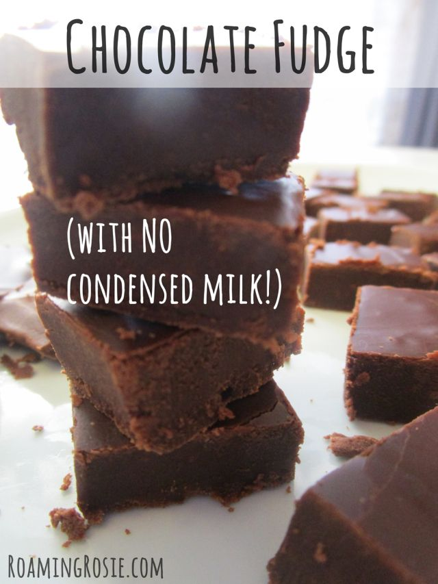 Chocolate Fudge Recipe With No Condensed Milk Fudge Recipes Chocolate Fudge Recipes Fudge Recipes Easy