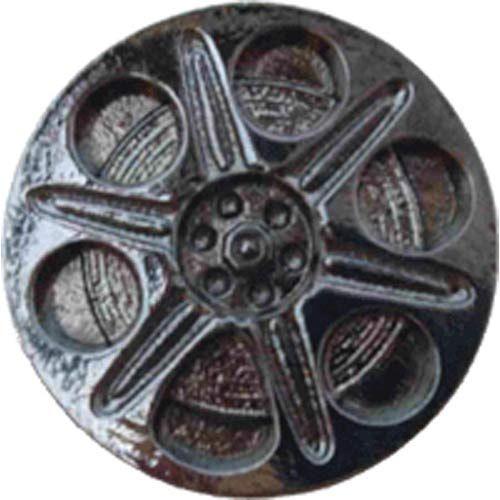 Silver Screen Film Spool Knob - Gunmetal