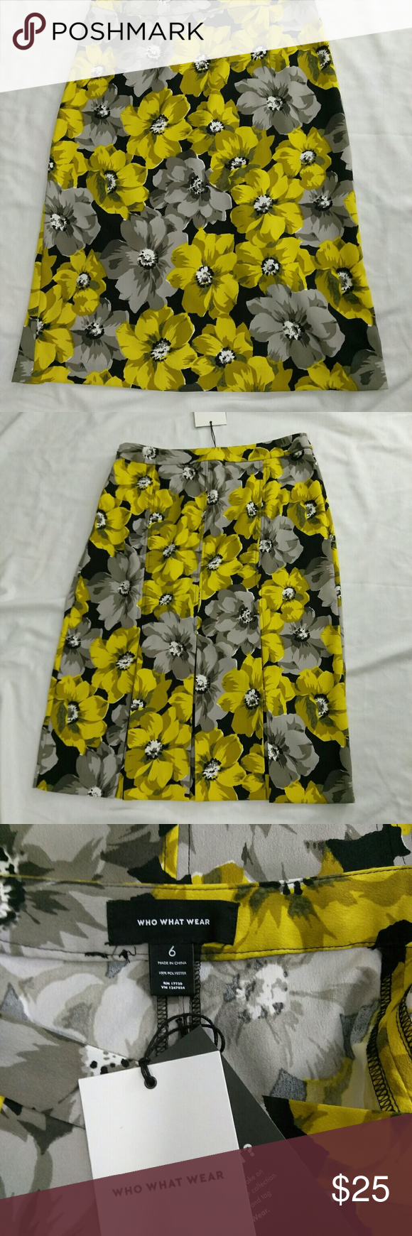 1638a906f9af Black Skirt Yellow Flowers | Gardening: Flower and Vegetables