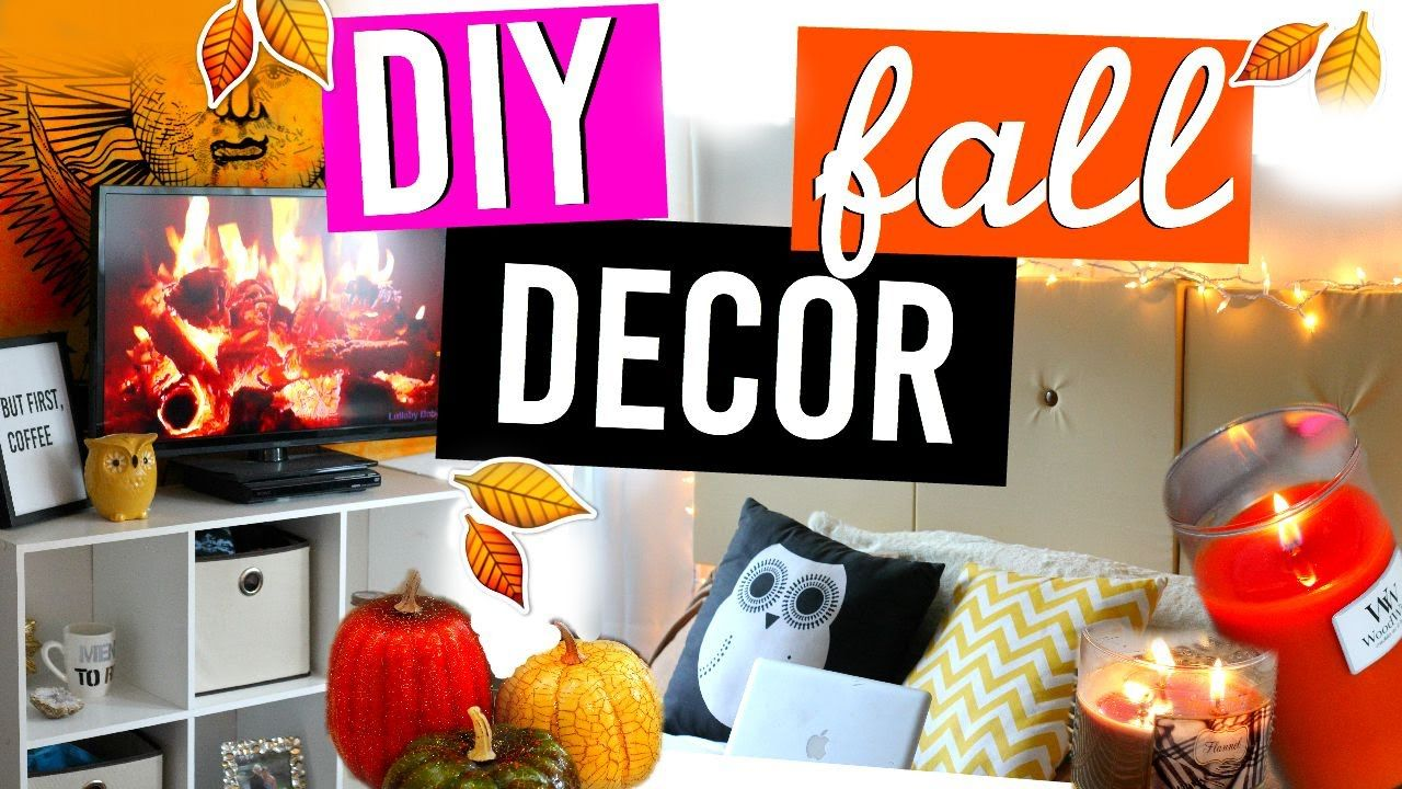 Fall Decorating Ideas And Diy Room Decor How To Make Your House