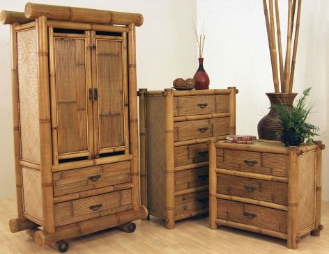 Bamboo bedroom furniture More