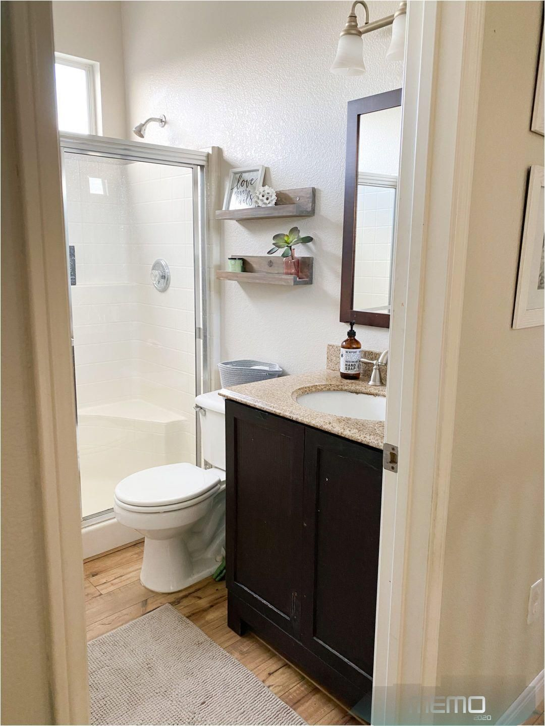 top us diy blogger domestic blonde features their small on bathroom renovation ideas 2020 id=45614