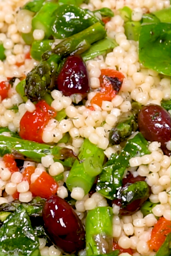 Photo of Mediterranean Couscous Salad