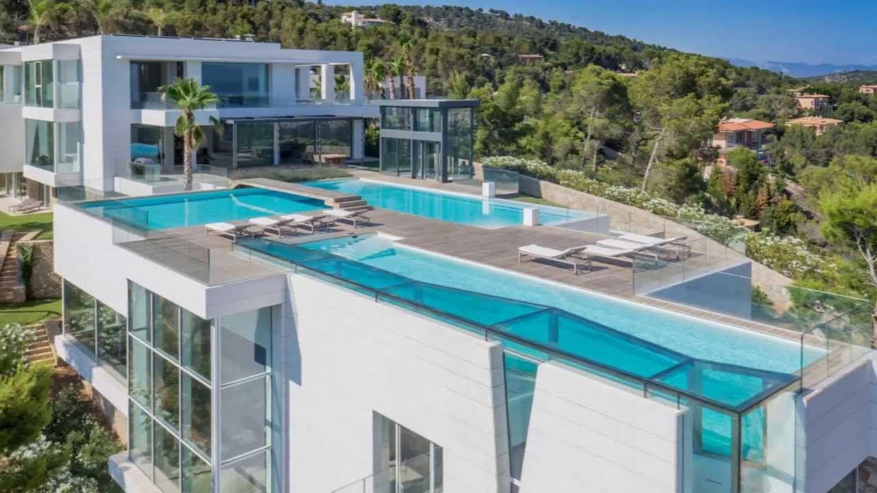 villa mieten mallorca son vida Modern mansion, Mansions
