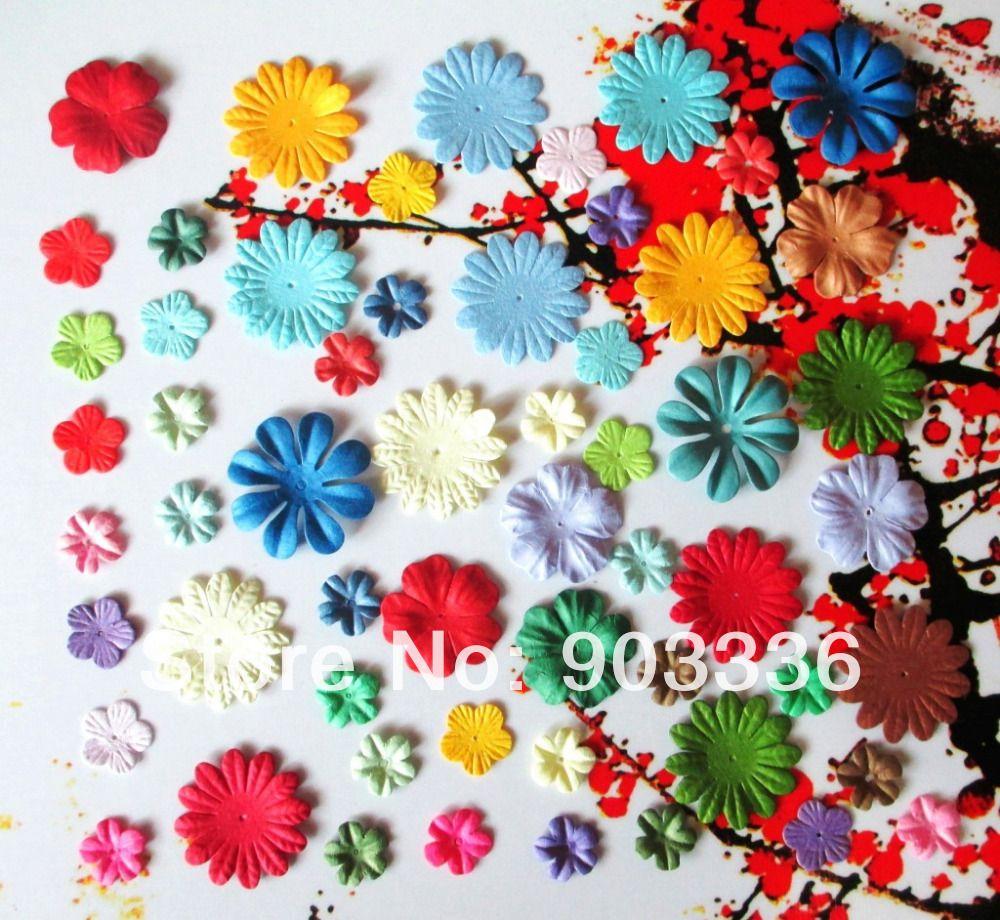 Craft Paper Flowers For Scrapbooking Paper Flowers Scrapbooking