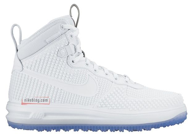 nike lunar force 1 duck boot white ice