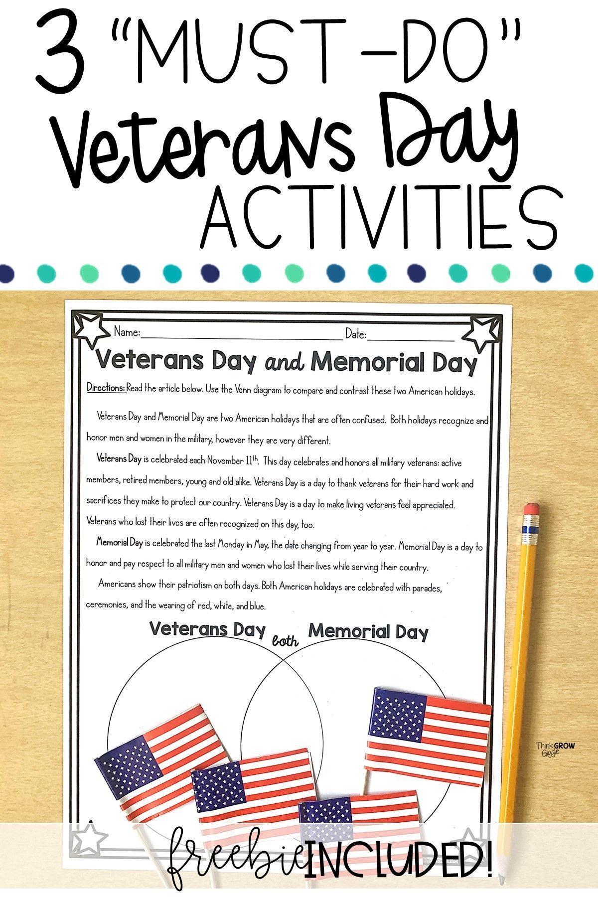 Veterans Day Activities For Kids Veteransdayartprojects
