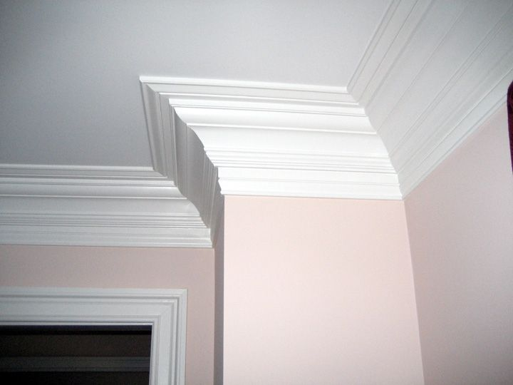 Triple Built Up Crown Beach House Interior Crown Molding My Home