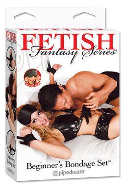 Fetish Fantasy Series Beginner's Bondage Set Black