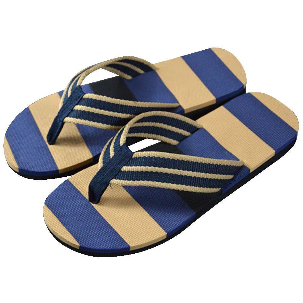 2c143cac12455 Null 2017 Summer Sandals Men Fashion Stripe Flip Flops Shoes Sandals Male  Comfortable Flops Slipper Flip