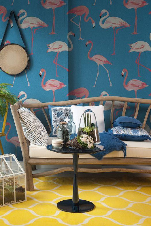 sweet home wallpaper designs. Wallpaper Tropische sferen in huis  ID d co int rieure Pinterest