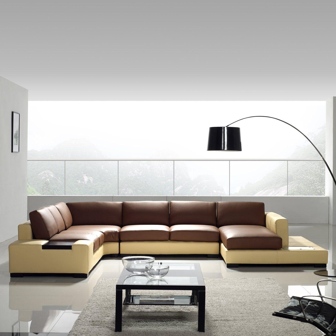 Very Modern Tosh Furniture Tos Lf 2029 Modern Leather Sectional Sofa Modern Leather Sectional Sofas Leather Couch Sectional Modern Sofa Sectional